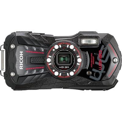 WG-30 16 MP Waterproof Digital Camera with 3-Inch LCD - Ebony Black
