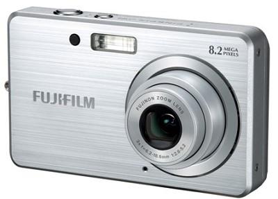 FINEPIX J10 8MP Digital Camera (Silver)