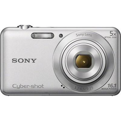 DSCW710 16 MP 2.7-Inch LCD Digital Camera - Silver - OPEN BOX