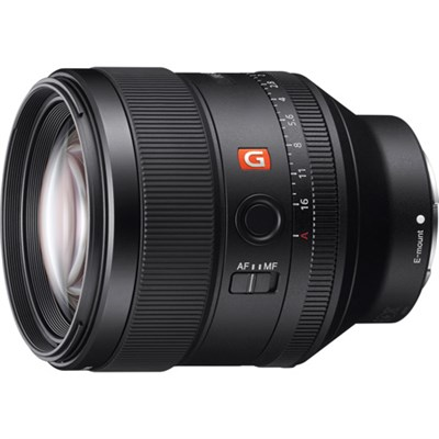 FE 85mm F1.4 GM Full Frame E-Mount Lens