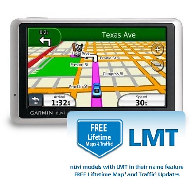 nuvi 1300 GPS with Free Lifetime Maps and Traffic Update