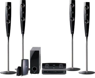 LHT888 - DVD Wireless-Ready Home Theater System