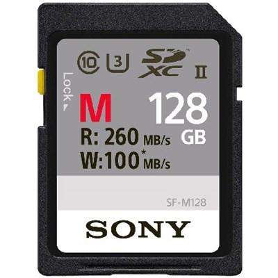 Memory Card 128GB, UHS-II SD, CL10, U3, Max R260MB/s, W100MB/s (SF-M128/T)