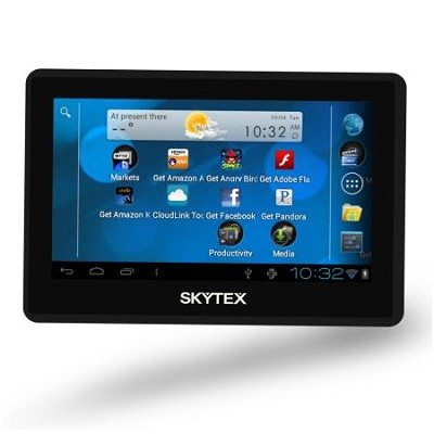 Skypad 4.3` Touchscreen Android 4.0 Tablet with Built-in WiFi and Webcam
