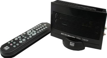 TV WONDER HD 650 USB BLACK DUAL TUNER WITH REMOTE