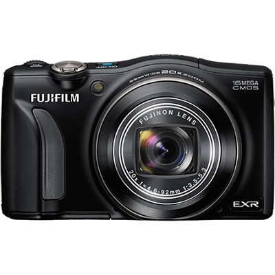 FinePix F770EXR 16MP EXR CMOS Digital Camera (Black)