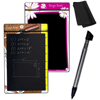 8.5-Inch LCD Writing Tablet 1 Floral and 1 Shop Notes