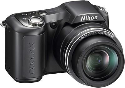 COOLPIX L100 10MP Digital Camera (Matte Black)