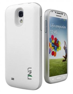 Unity Ultra-Slim 2600mAh Battery Case for Samsung Galaxy S4 - Black/Silver