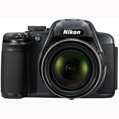 COOLPIX P520 18.1 MP 42x Zoom Digital Camera - Charcoal