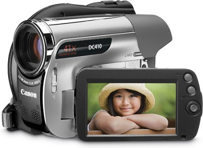 DC-410 DVD Camcorder with 41x Advanced  Zoom