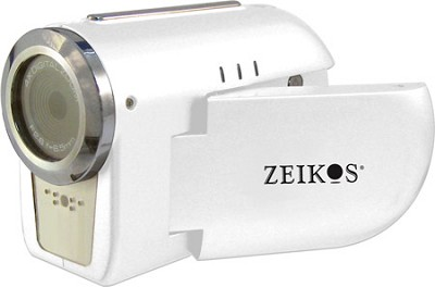 SDCZ10 3-in-1 Camcorder, Digital Camera and WebCam with 1.5` Preview LCD - White