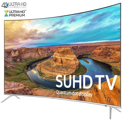 UN65KS8500 - Curved 65-Inch Smart 4K SUHD HDR 1000 LED TV - KS8500 - OPEN BOX