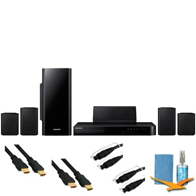5.1ch Home Theater System 3D Blu-ray Wifi Plus Hook-Up Bundle - HT-H5500W