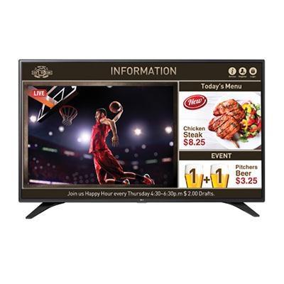 43` (42.8` Diagonal) Direct LED SuperSign Commercial TV Signage - 43LW540S