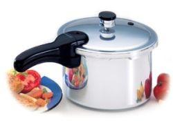 4qt. Pressure Cooker Polished Aluminum 01241