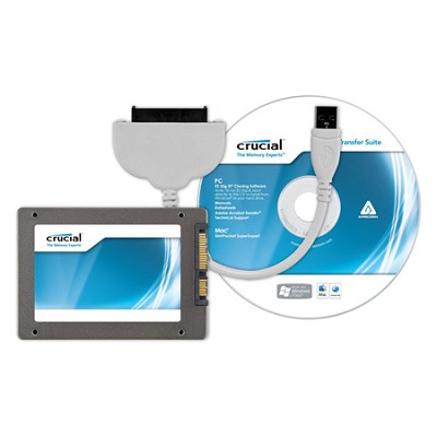 64GB m4 SSD 2.5` SATA 6Gb/s Solid-State Drive with Data Transfer Kit