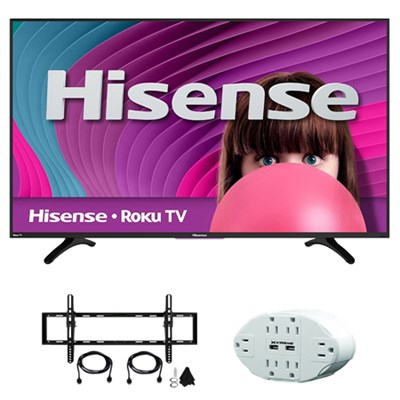 H4 Series 40` Full HD 1920x1080 ROKU LED HDTV w/ accessory bundle