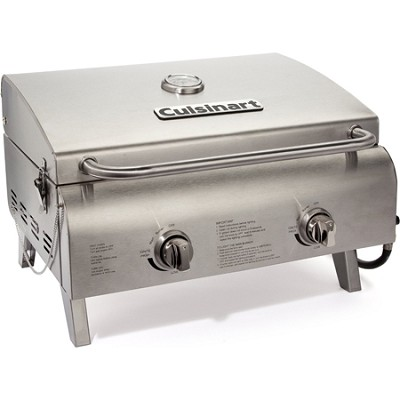 CGG-306 Chef's Style Stainless Tabletop Grill