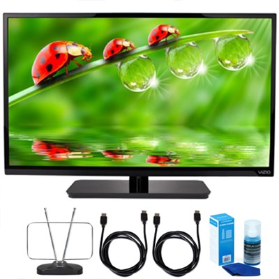 E320-B0E E-Series 32` Class LED HDTV Cut The Cord TV Bundle