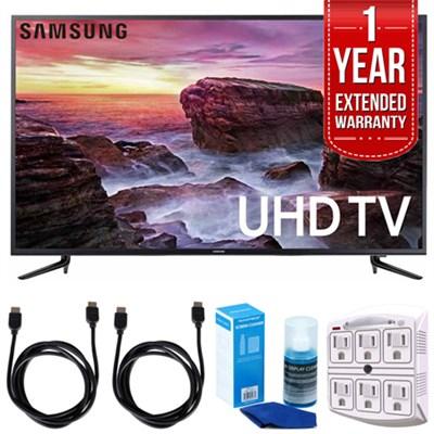 58` Smart LED 4K UHD TV w/ Wi-Fi + Extended Warranty Bundle