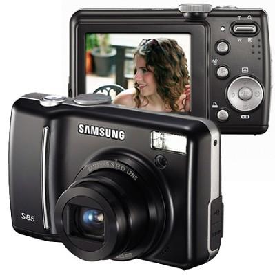 Digimax S85 8.2 MP Digital Camera (Black)
