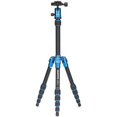 A0350Q0B Backpacker Travel Tripod Kit - Blue