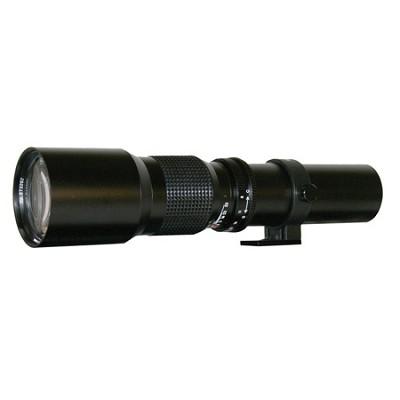 500mm f/8.0 Telephoto Lens For Sony DSLR Cameras