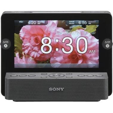 ICF-CL75IP Multi-Function Clock Radio for iPod