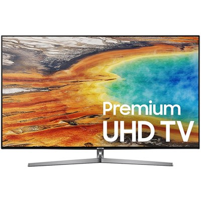 UN55MU9000 55-Inch 4K Ultra HD Smart LED TV (2017 Model) - Refurbished