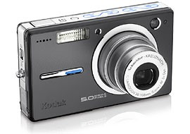 Easyshare V550 Pocket-sized Digital Camera (Black)