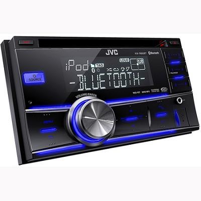 2-DIN Bluetooth Dual USB-CD Reciever (KWR800BT)