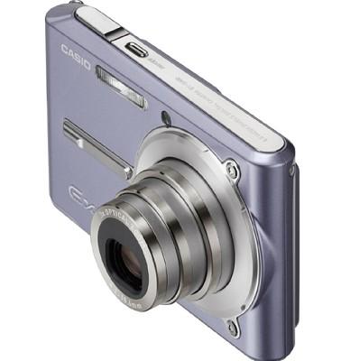 Exilim EX-S600 Super Slim Digital Camera (Mistral Blue)