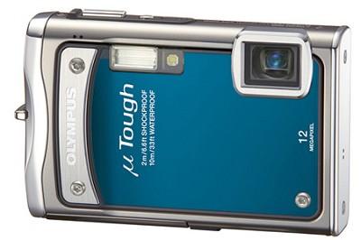 Stylus Tough 8000 12MP 2.7` LCD Digital Camera (Blue) - REFURBISHED