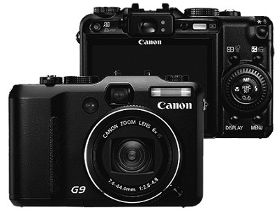 Powershot G9 Digital Camera(Refurbished)