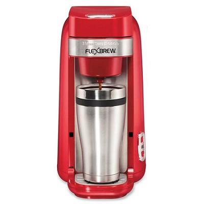Single-Serve Coffee Maker, FlexBrew Red - 49960