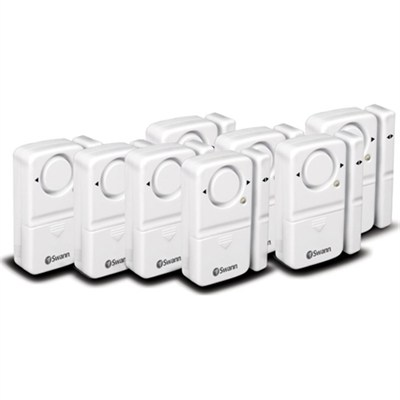 Magnetic Window/Door Alarm 8 Pack - OPEN BOX