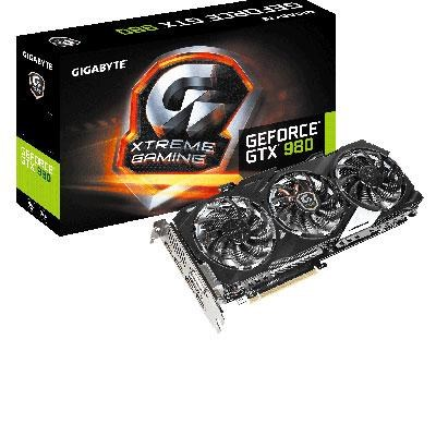 GeForce GTX 980 4GB GDDR5 OC Edition Graphics Card - GV-N980XTREME-4GD