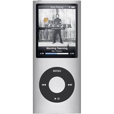 iPod Nano 4th Generation 8GB MP3 Player - Silver
