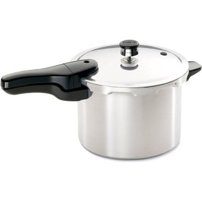 6-Quart Aluminum Pressure Cooker - OPEN BOX