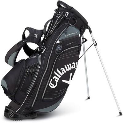 Callaway Golf Hyper-Lite 4.5 Stand Bag - Charcoal / Black 5112003