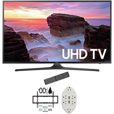 50` 4K Ultra HD Smart LED TV 2017 Model with Wall Mount Bundle