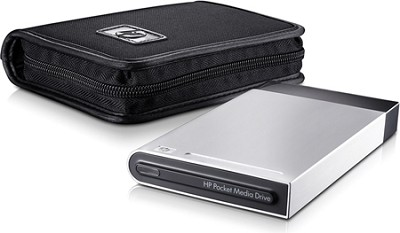 500GB Pocket Media Drive w/ Carrying Case