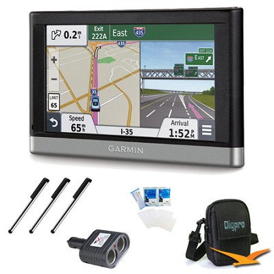 nuvi 2457LMT 4.3` GPS with Lifetime Maps and Traffic Updates Essentials Bundle