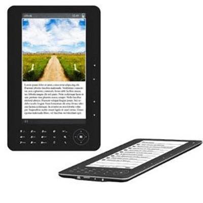 7` TFT Color eBook Reader - Black