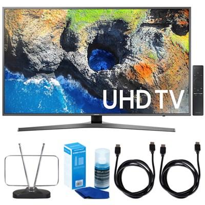 40` UHD 4K HDR LED Smart HDTV (2017 Model) w/ TV Cut The Cord Bundle