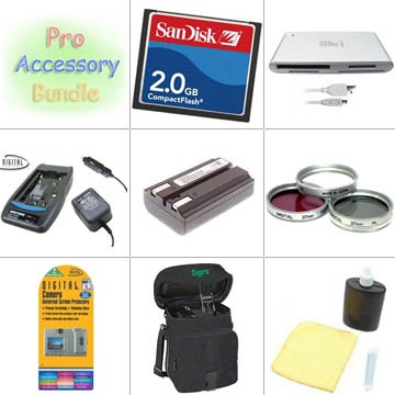 Platinum Accessory Kit for Minolta Dimage A200