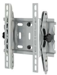 15` to 40` inch Universal Flat panel TV wall mount with tilt motion (Silver)