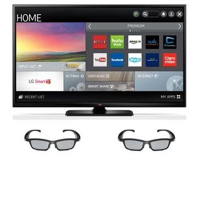 60PB6900 - 60` Plasma 1080p 600Hz Smart 3D HDTV w/ 2 pairs of Active 3D Glasses