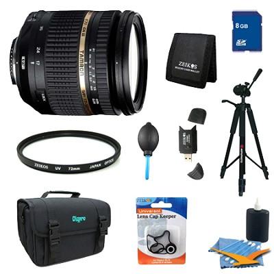 SP AF 17-50mm F/2 8 XR Di II VC LD Lens Pro Kit for Nikon AF